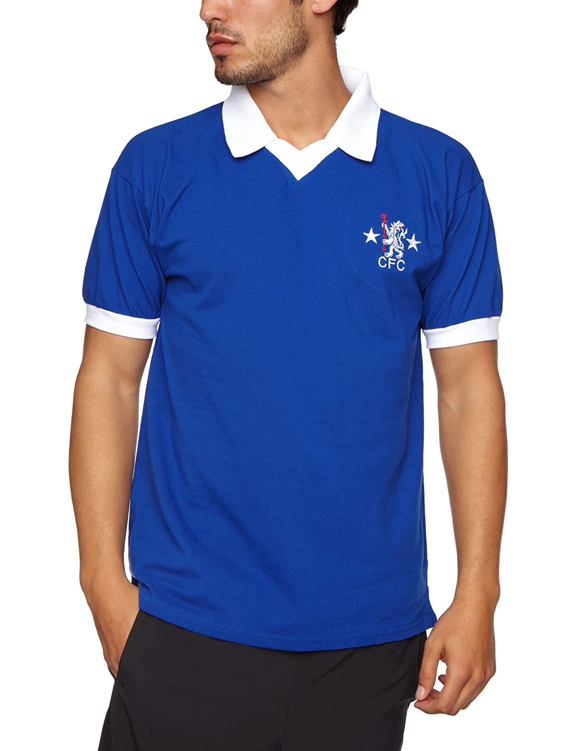 eaba7a6a0 Score Draw Chelsea 1982 Shirt  Amazon.co.uk  Sports   Outdoors