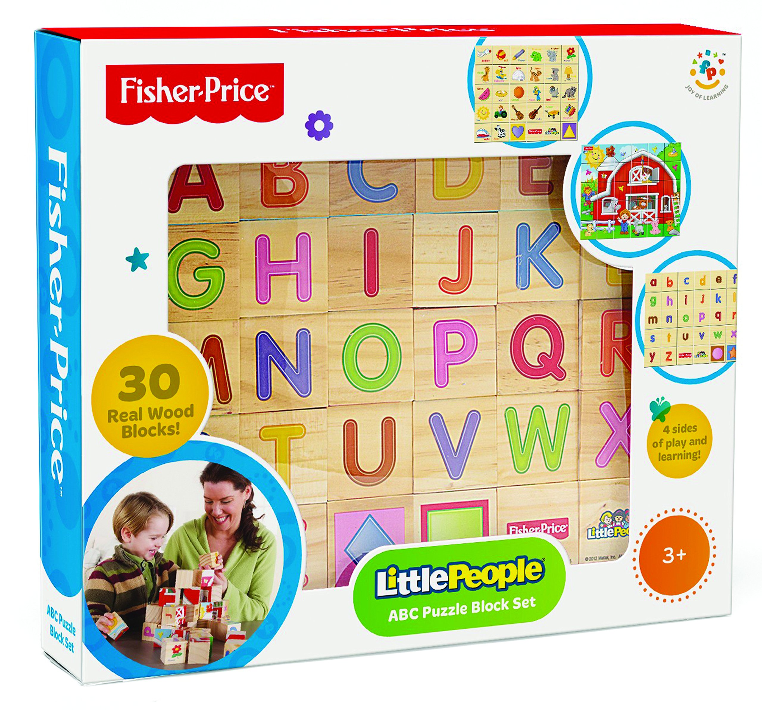 Fisher Price Laugh and Learn Alphabet and Puzzle Blocks (30 Piece)