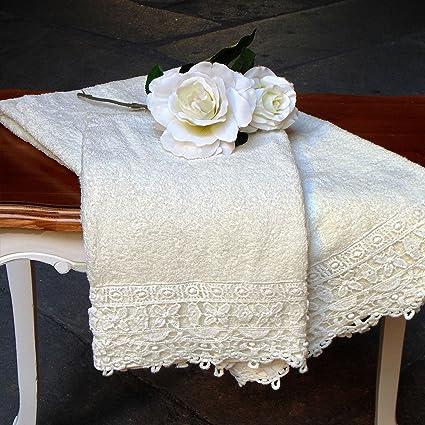 Juego de Toallas - Toalla de Mano y Toalla Invitado - Textil baño - Toallas Baño