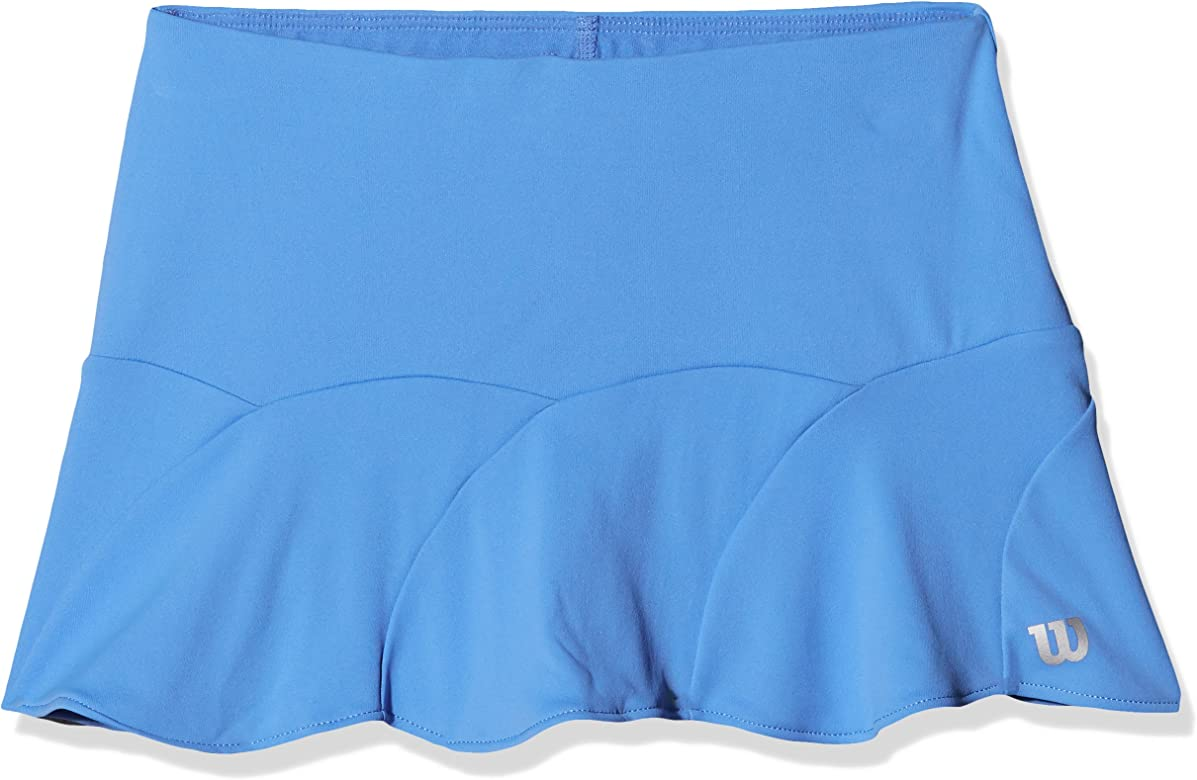 Wilson G SP Shape 11 Falda de Tenis, niñas, Azul (Regatta), XS ...