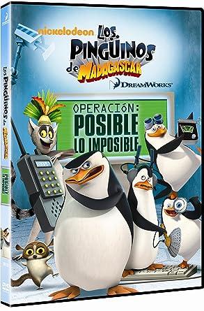 Los Pingüinos De Madagascar Vol 4 Dvd Amazon Es Varios Cine Y Series Tv