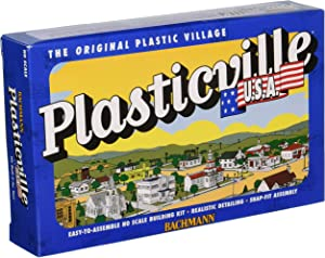 Bachmann Trains - PLASTICVILLE U.S.A. BUILDINGS – CLASSIC KITS - POST OFFICE - HO Scale