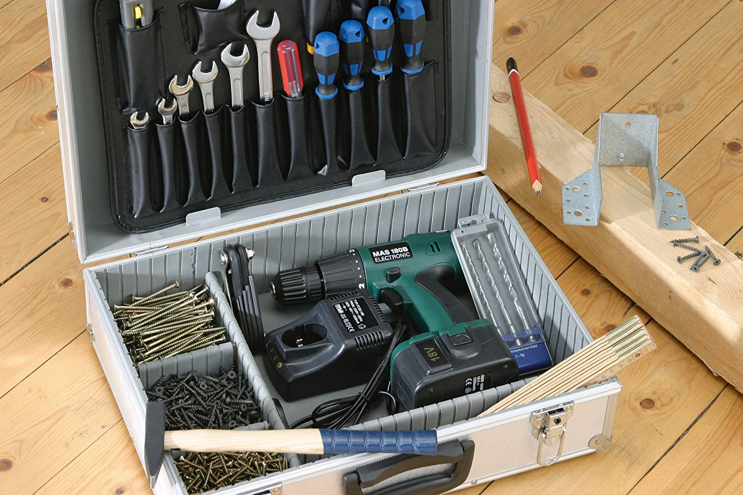9095000 460 x 330 x 150 mm Meister Valise /à outils vide