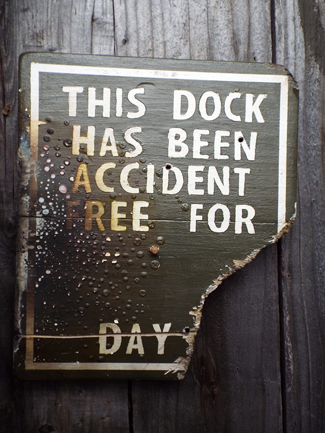 Disneyland Jungle Cruise Inspired Wood Sign Accident Free Sign