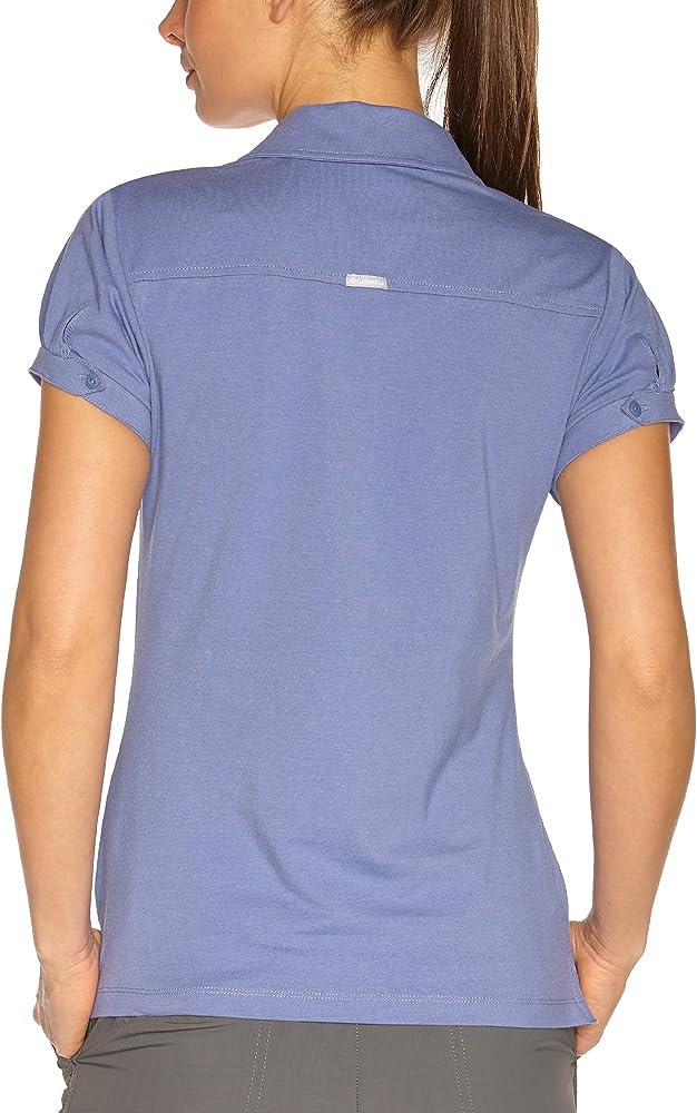 Columbia - Camisa de Acampada y Senderismo para Mujer, tamaño S (S), Color Velvet Morning: Amazon.es: Ropa y accesorios