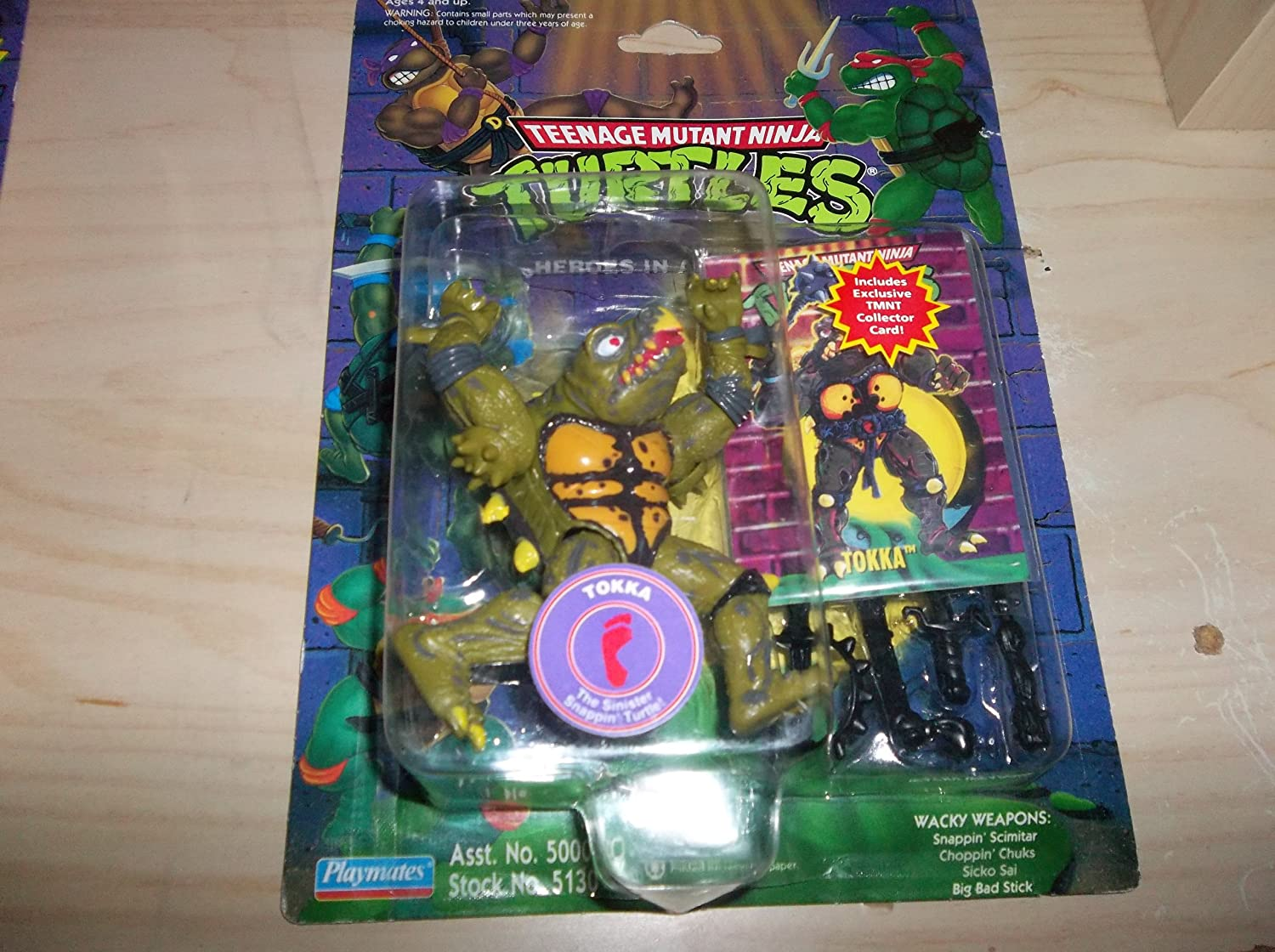 Amazon.com: Teenage Mutant Ninja Turtles tokka, la siniestra ...
