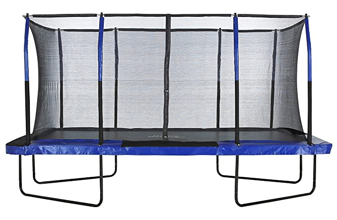 Upper Bounce Easy Assemble Spacious Rectangular Trampoline - Best Rectangular Trampoline with Unique Enclosure System