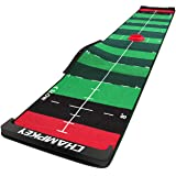 """Champkey 10' x 20"""" SCPS Speed Control Putting Mat - Adjustable for 4 Speeds and Custom Slope Golf Putting Green - Pro Trainin"""