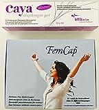 Femcap 30mm Capuchon cervicale & Caya Natural Contraceptive Gel 60g Combo-Pack