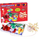 Snap Circuits Motion Electronics Exploration Kit | Over 165 Exciting STEM Projects | 4-Color Project Manual | 50+ Snap Modules | Unlimited Fun