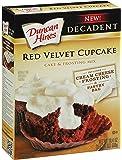 Duncan Hines Decadent Cupcake Mix, Red Velvet, 19.4 oz