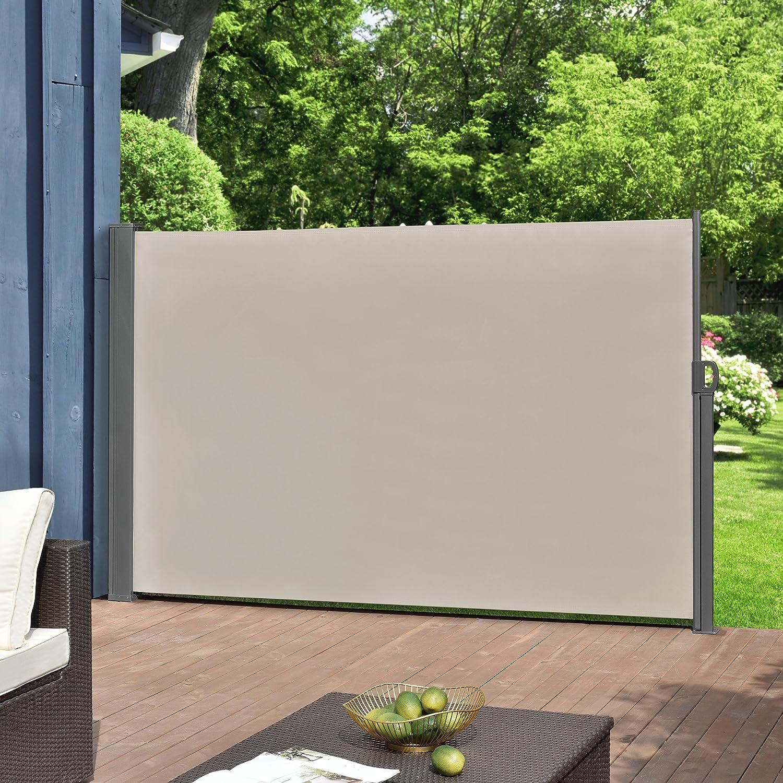 Pro Tec Seitenmarkise 160 X 300 Cm Sandfarben Beige