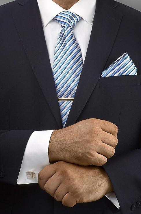 TAVATO Men/'s Premium Ties and Accessories Gift Set