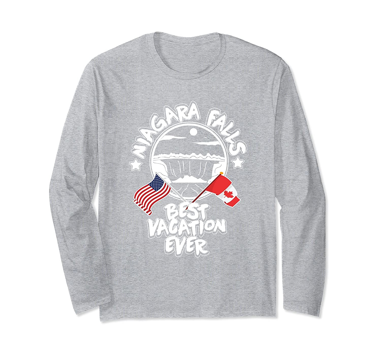 Niagara Falls Best Vacation Ever US Canada Family T Shirt-ah my shirt one gift