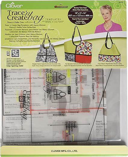 Amazon. Com: clover bag template / square (japan import): toys & games.