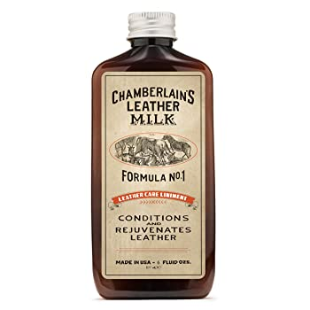 Chamberlain's Leather Milk 6 Oz Leather Cleaner