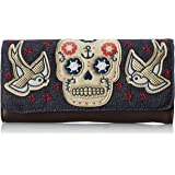 Loungefly LF Sugar Skull with Sparrows Wallet