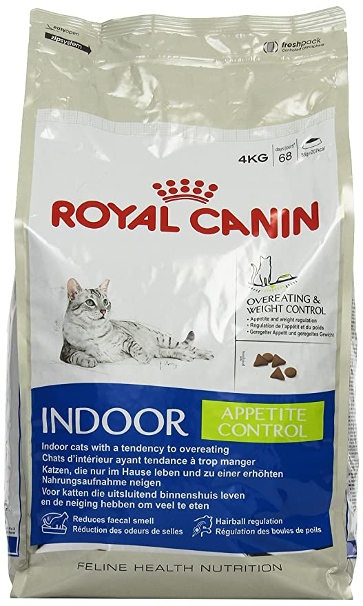 Royal Canin Comida para gatos Indoor Appetite 4 Kg