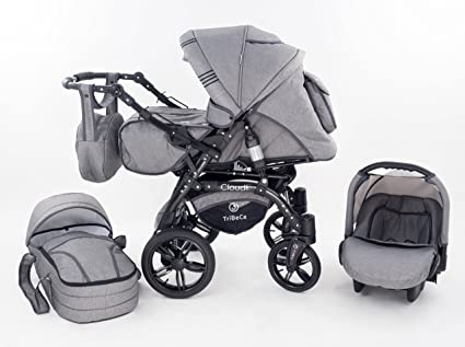 Baby Merc Maylo Twist Carrito Cochecito 3en1+silla de coche ...
