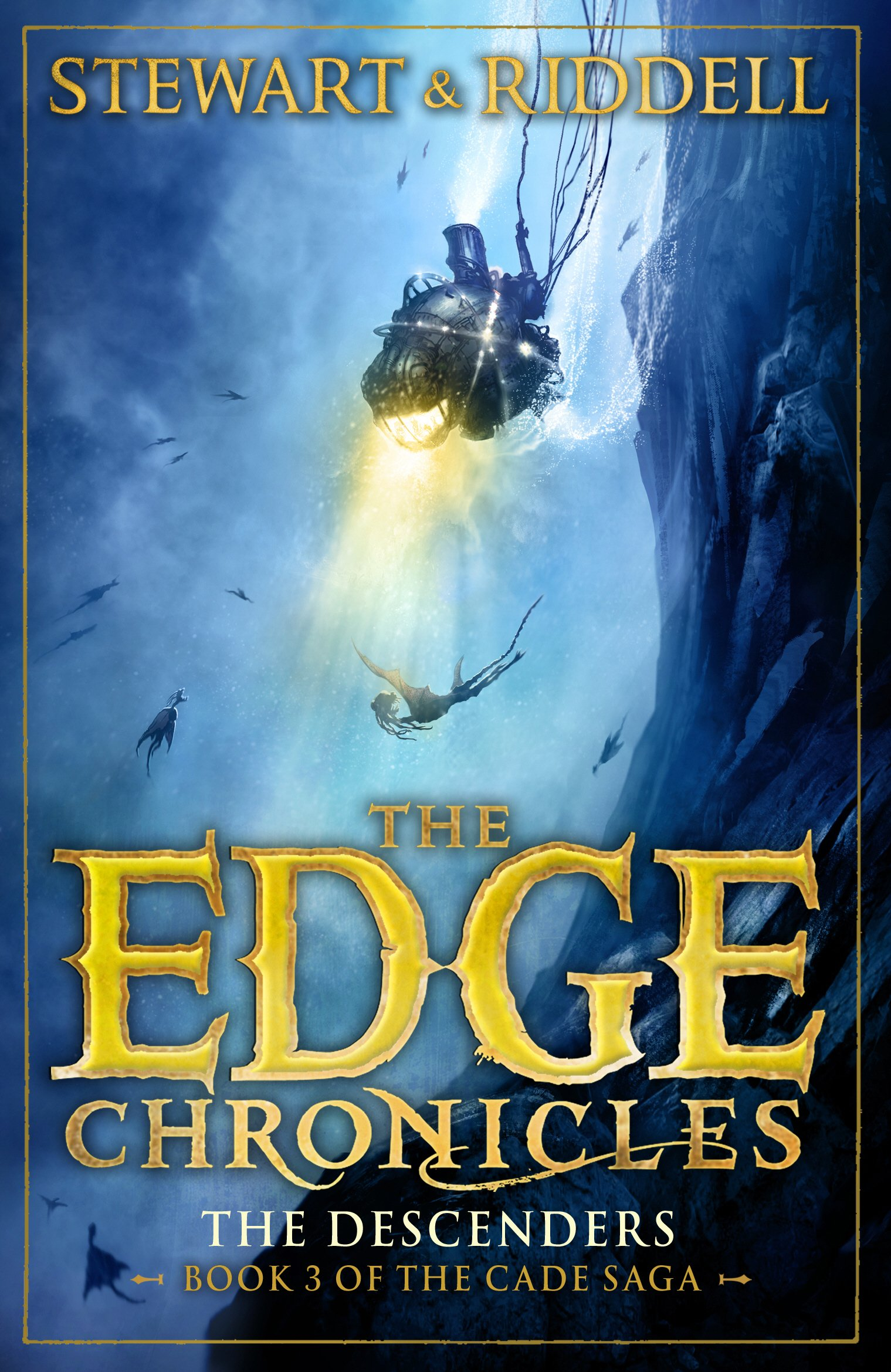 The Edge Chronicles 13: The Descenders: Third Book of Cade: Amazon ...