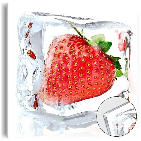 Murando - Acrylglasbild Obst 40X40 Cm- Glasbilder - Wandbilder Xxl