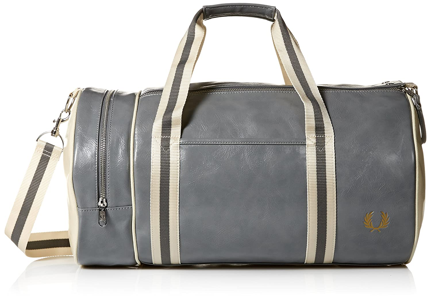 Fred Perry Men's Classic Barrel Duffel Bags by