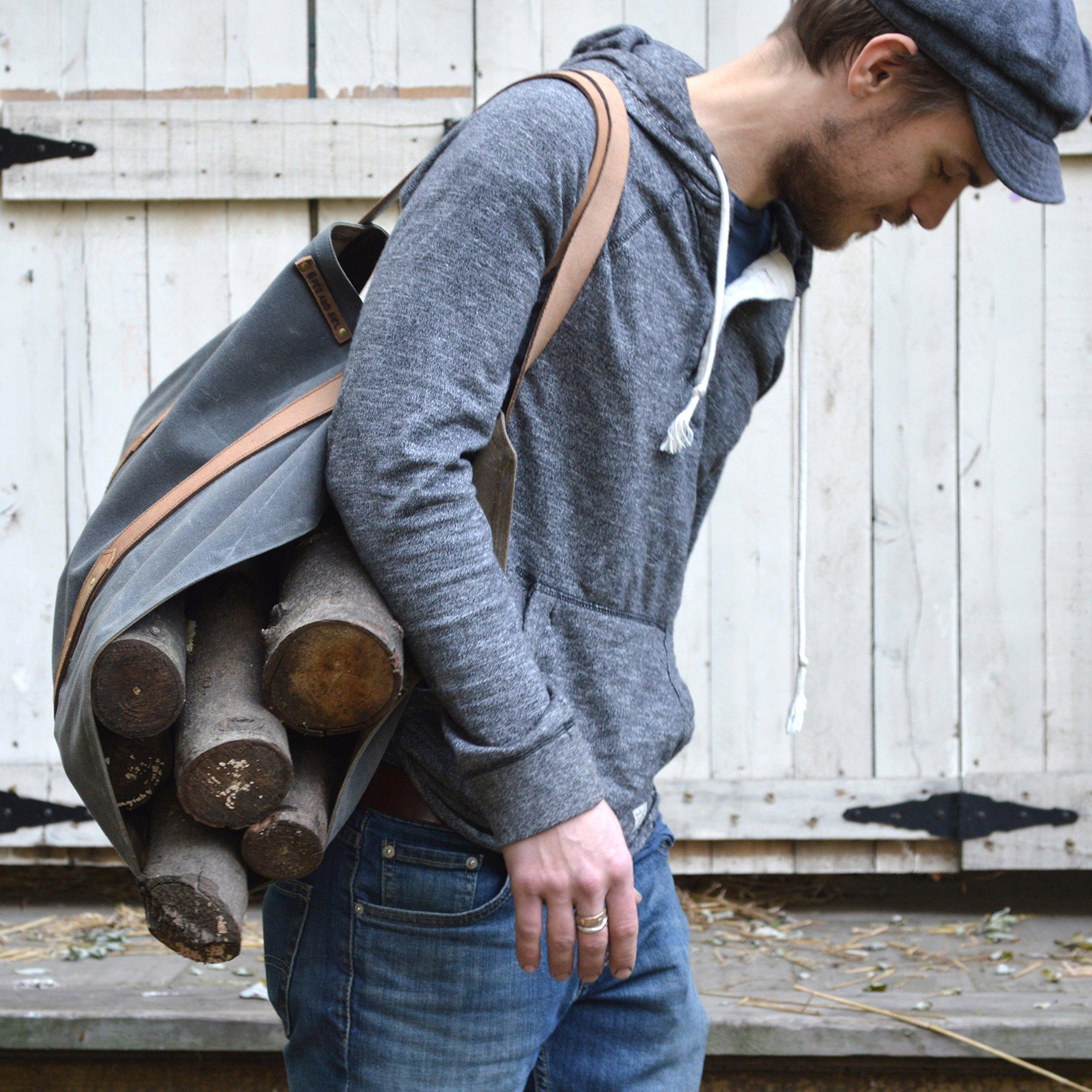 Shanty Man Log Carrier