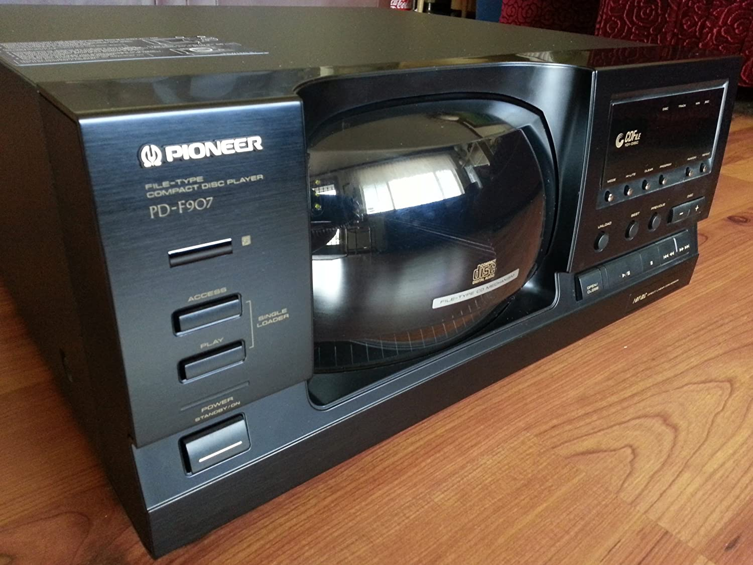 Amazon.com: Pioneer PD-F907 101 Compact Disc Player Black: Home Audio & Theater