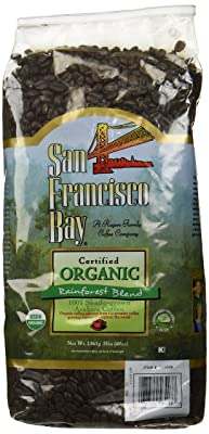 San Francisco Bay 100% organic coffee rainforest blend
