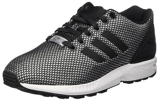 Adidas ZX Flux Em, Zapatillas para Hombre, Varios Colores (Core Black/FTWR White/Core Black), 42 2/3 EU
