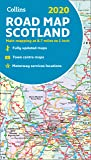2019 Collins Map of Scotland (Collins Maps)