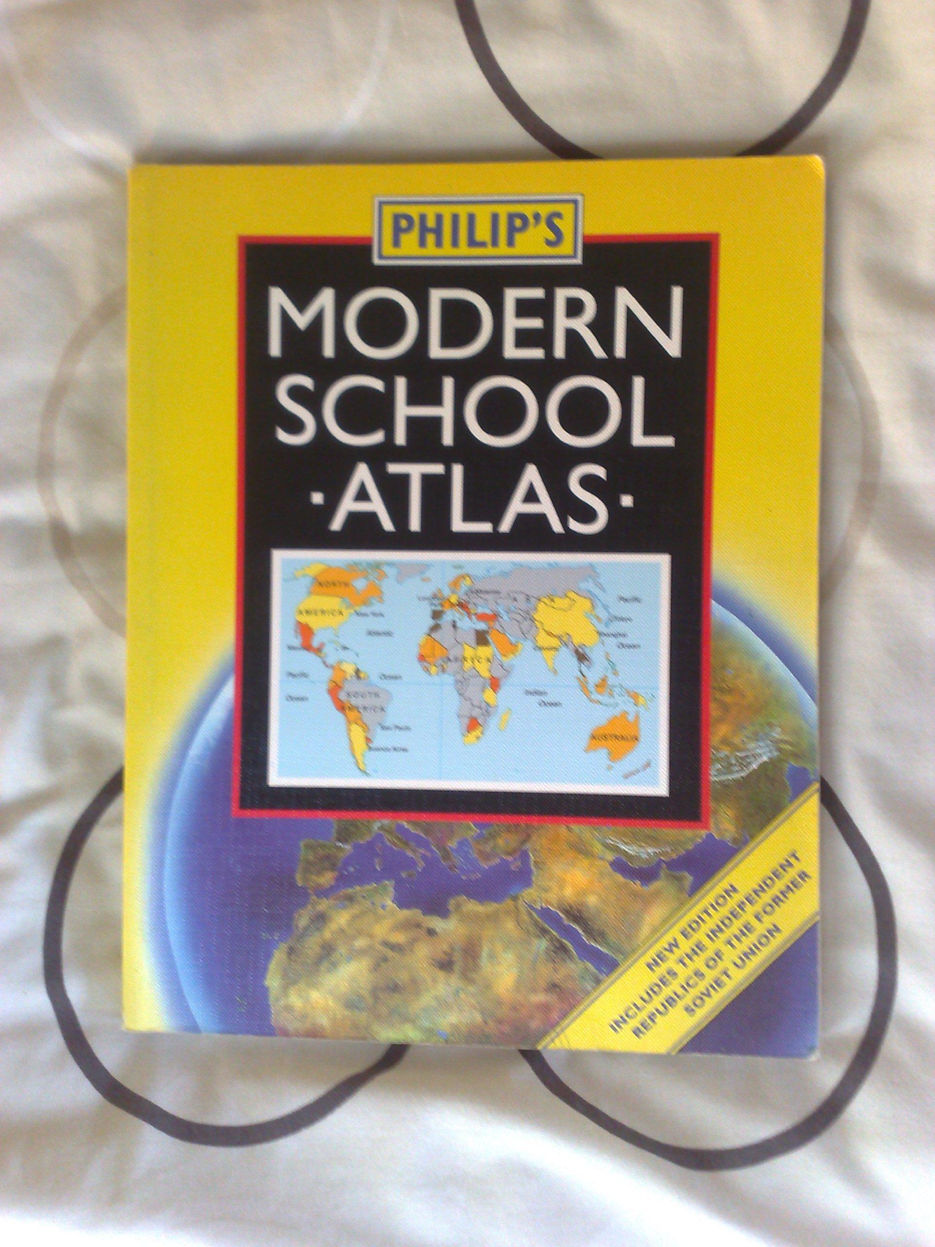 PHILIP'S MOD SCHOOL ATLAS 89TH -PB: Amazon co uk