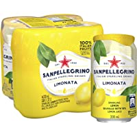 San Pellegrino Limonata Can, 330ml, (Pack of 4)