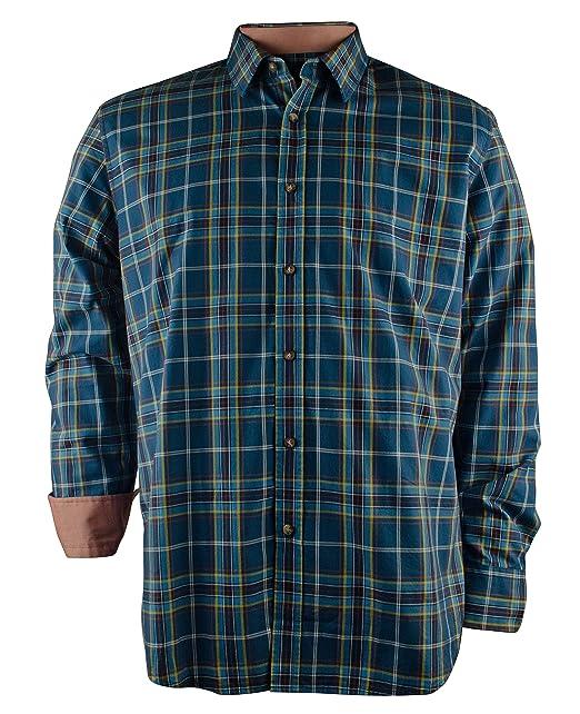 Hugo Boss - Camisa de vestir - Manga Larga - para hombre, Multi Blue,