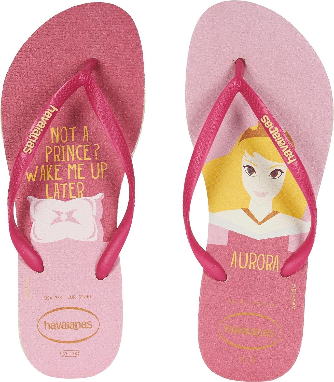 wholesale online buy good classic shoes Havaianas Women's Slim Disney Princess Sandal Beige/Red: Amazon.ca ...