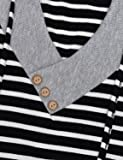 Miusey Pullover Sweatshirt, Womens Tunic Blouse
