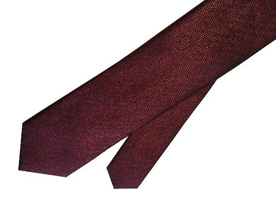 Ben Sherman - Corbata de cuello de seda para hombre, color rojo ...