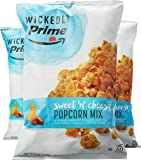 Wickedly Prime Sweet 'n' Cheesy Popcorn Mix, Caramel & Cheddar, 12 Ounce (Pack of 3)