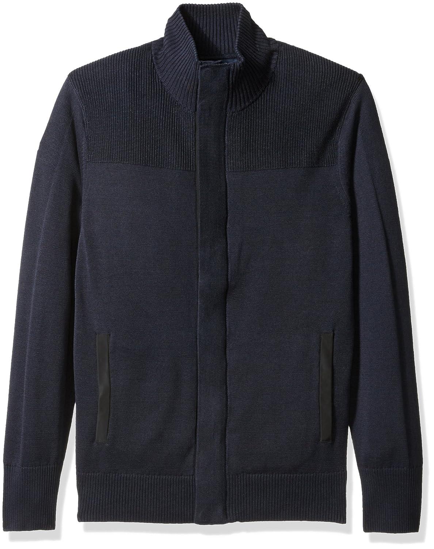 Nautica Mens Multi-Texture Cardigan Nautica Sportswear M/&W S63529