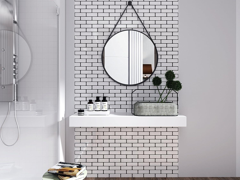 Wall Crafts 3D Mosaik Fliesensticker Selbstklebend 10 Stück für ...