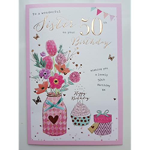 Sister 50th Birthday Gifts Amazon