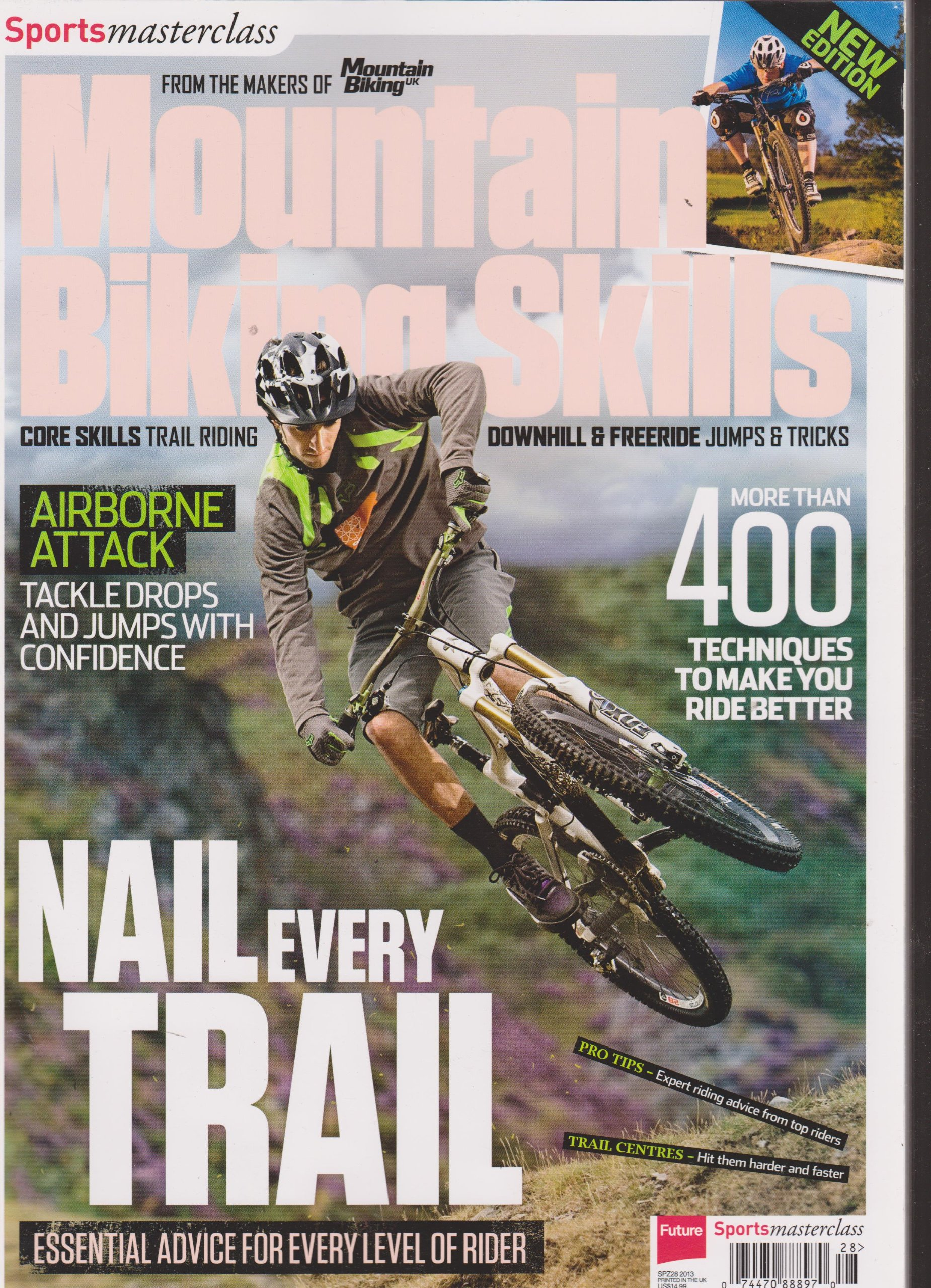 Sports Masterclass Mountain Biking Skills Magazine 2013 PDF