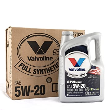 Valvoline SynPower 5W-20 Full Synthetic Motor Oil - 5qt (Case of 3)