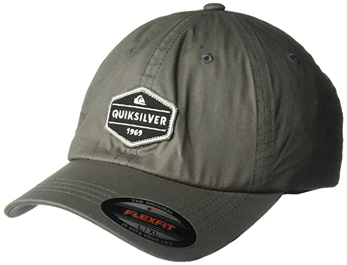 the latest 1cb97 85db9 ... reduced quiksilver mens el stretch hat baseball cap iron gate abe2c  957e8