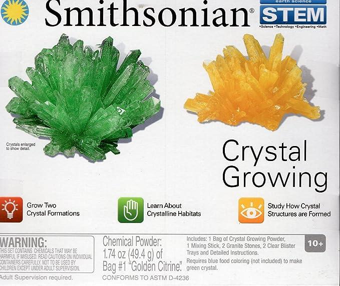 Amazon Smithsonian Stem Crystal Growing Toys Games