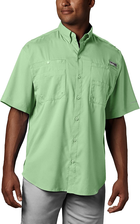 Columbia Mens PFG Tamiami Ii Short Sleeve Shirt UPF