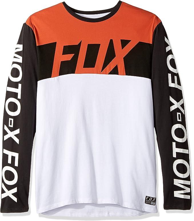 Camiseta De Manda Larga Fox Scramblur Airline Negro Vintage (Xl, Negro): Amazon.es: Deportes y aire libre