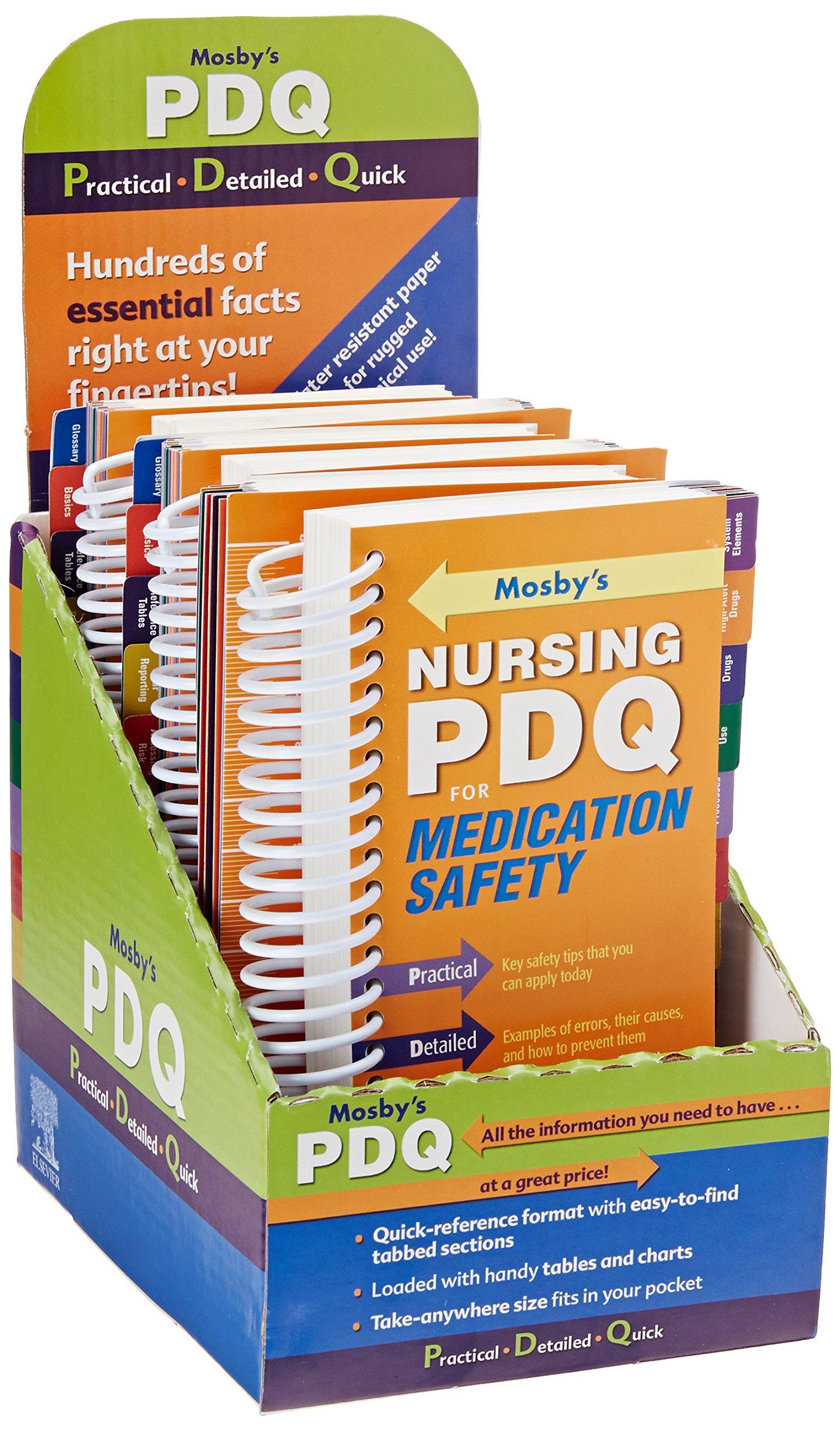 Read Online Mosby's Nursing PDQ for Medication Safety 6 - Pack PDF