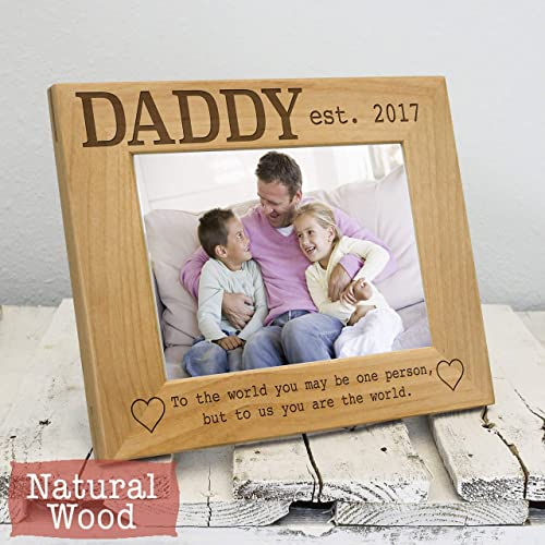 Amazoncom Custom Picture Frame For Daddy Dad Christmas Picture