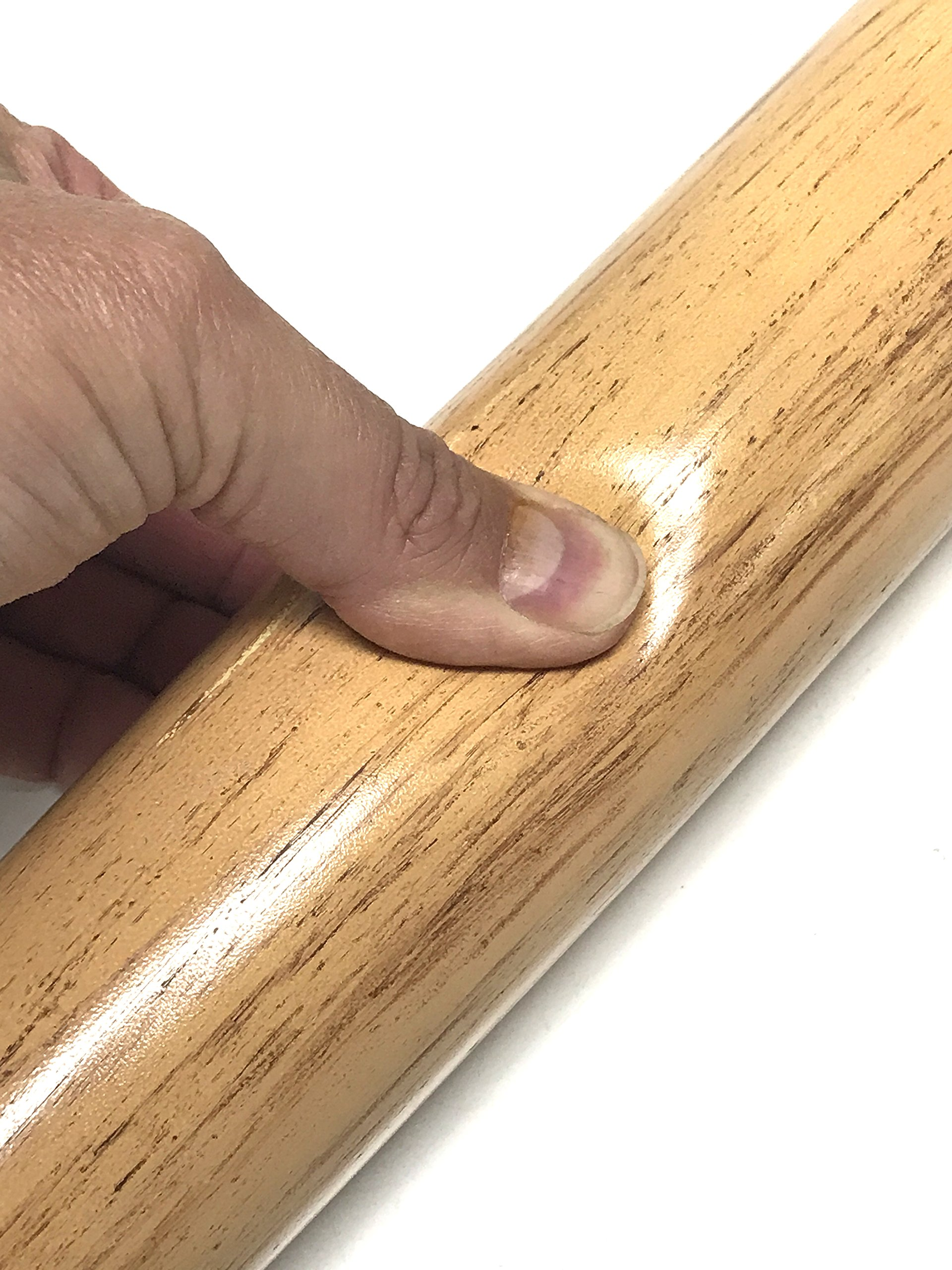 NewRuleFX Foam Rubber Baseball Bat with Simulated Light Wood Grain Special Effects Prop by NewRuleFX (Image #2)